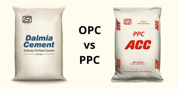OPC vs PPC - Difference Between OPC and PPC Cement
