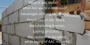 AAC Blocks - Properties, Advantages, Disadvantages & Laying Process Civil Lead