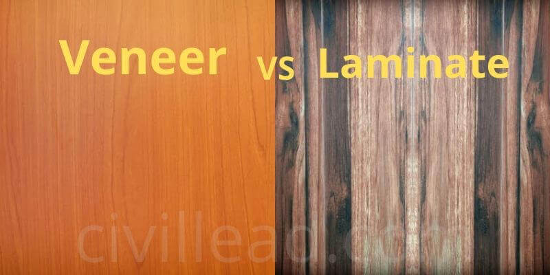 Veneer vs Laminate - Difference Between Veneer and Laminate
