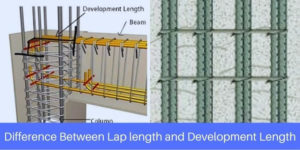 Difference Between Lap length and Development Length