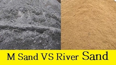 Difference Between M-Sand and River Sand