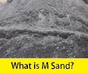 What is M sand?