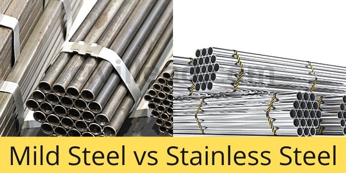 Mild Steel vs Stainless Steel-Difference Between Mild steel and Stainless Steel
