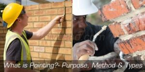 What is Pointing? Types of Pointing,  Purpose, Method Civil Lead