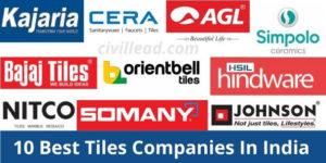 10 Best Tiles Companies In India
