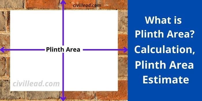 Plinth area