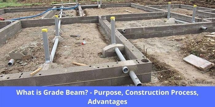 grade beam, grade beam foundation