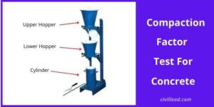 Compaction Factor Test